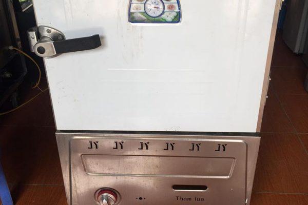 Bán tủ cơm sáu khay bằng gas